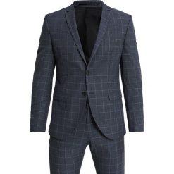 Selected Homme SLHONEMYLOAIR CHECK SUIT Garnitur dark blue. Niebieskie garnitury Selected Homme, z elastanu. Za 929,00 zł.