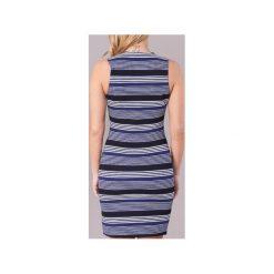 Sukienki krótkie Molly Bracken  POLAROD. Niebieskie sukienki hiszpanki Molly Bracken, m, z krótkim rękawem, mini. Za 159,20 zł.