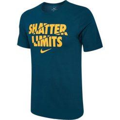 Nike Koszulka męska NK Dry Tee DF Limits niebieska r. S (853702 425). Białe t-shirty męskie marki Adidas, l, z jersey, do piłki nożnej. Za 82,47 zł.