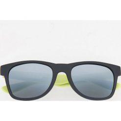 Okulary przeciwsłoneczne - Żółty. Żółte okulary przeciwsłoneczne męskie wayfarery Reserved. Za 39,99 zł.