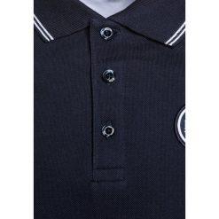 Bluzki dziewczęce bawełniane: BOSS Kidswear LOGO RUND Koszulka polo marine