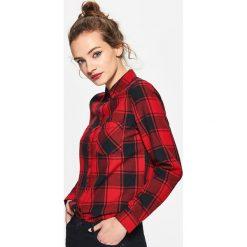 Koszula w kratę - Czarny. Czarne koszule męskie marki Reserved. Za 79,99 zł.