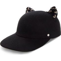 Czapka z daszkiem KARL LAGERFELD - 86KW3402  Black 999. Czarne czapki z daszkiem damskie KARL LAGERFELD, z materiału. Za 429,00 zł.
