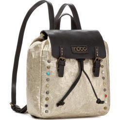 Plecak NOBO - NBAG-D3350-C023 Złoty. Żółte plecaki damskie marki Nobo, ze skóry ekologicznej, eleganckie. W wyprzedaży za 139,00 zł.