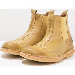 Bisgaard Botki yellow. Żółte buty zimowe damskie Bisgaard, z materiału. W wyprzedaży za 279,30 zł.