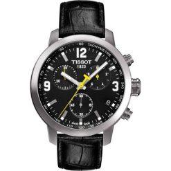 RABAT ZEGAREK TISSOT T- SPORT T055.417.16.057.00. Czarne zegarki męskie marki TISSOT, ze stali. W wyprzedaży za 1628,01 zł.