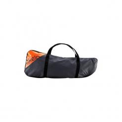 Torba transportowa na Hulajnogę TOWN BAG. Czarne torebki klasyczne damskie marki Kazar, w paski, ze skóry. Za 44,99 zł.