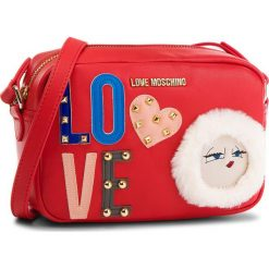 Torebka LOVE MOSCHINO - JC4271PP06KJ0500 Rosso. Czerwone listonoszki damskie marki Love Moschino, ze skóry ekologicznej. W wyprzedaży za 579,00 zł.