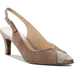 Rzymianki damskie: Sandały BRENDA ZARO – T2569 Niebla