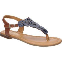 Sandały skórzane ażurowe S.Oliver 5-28102-28. Szare sandały damskie S.Oliver, w ażurowe wzory. Za 139,99 zł.