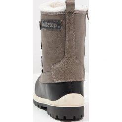 Fullstop. Śniegowce grey. Szare buty zimowe damskie marki fullstop., z materiału. W wyprzedaży za 151,20 zł.
