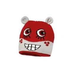 MaxiMo Mini Czapka MONSTER red. Czerwone czapeczki niemowlęce Maximo, z elastanu. Za 39,00 zł.