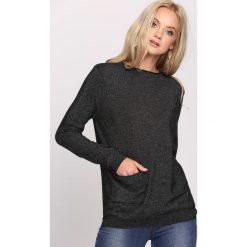 Czarny Sweter Count On Me. Czarne swetry klasyczne damskie Born2be, l, z dzianiny, z dekoltem w łódkę. Za 59,99 zł.