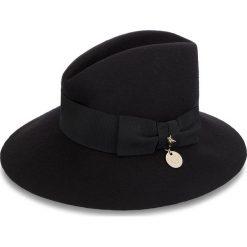 Kapelusz PATRIZIA PEPE - 2V7574/A919-K103 S Nero. Czarne kapelusze damskie Patrizia Pepe, z materiału. W wyprzedaży za 379,00 zł.