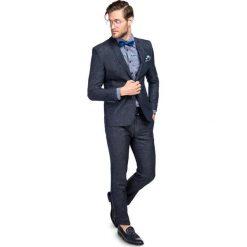Garnitur LEONARDO GXGS900092. Niebieskie garnitury marki Giacomo Conti, m, z tkaniny, klasyczne. Za 599,00 zł.