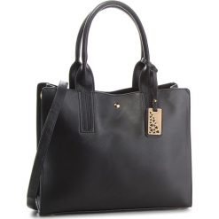 Torebka JENNY FAIRY - RC11745A Black. Czarne torebki klasyczne damskie marki Jenny Fairy, ze skóry ekologicznej. Za 119,99 zł.