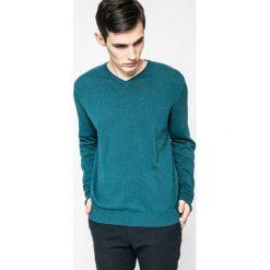Medicine - Sweter Lord and Master. Szare swetry klasyczne męskie MEDICINE, m, z bawełny, z okrągłym kołnierzem. W wyprzedaży za 59,90 zł.