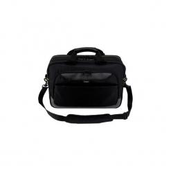 "Torba na laptopa Targus CityGear 15.6"" Topload black. Czarne torby na laptopa marki Targus, w paski. Za 214,99 zł."