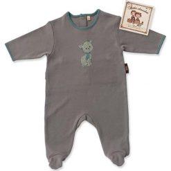 Pajacyki niemowlęce: Śpioszki w kolorze khaki