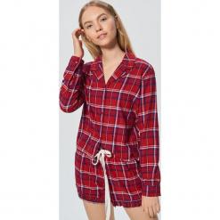 Dwuczęściowa piżama w kratę - Czerwony. Czerwone piżamy damskie marki Cropp, l. Za 89,99 zł.