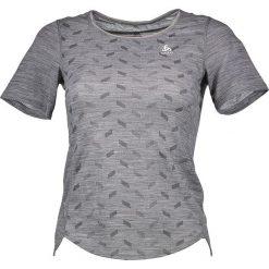"""Koszulka funkcyjna """"Revolution TW Light"""" w kolorze szarym. Szare t-shirty damskie Odlo, s. W wyprzedaży za 130,95 zł."""