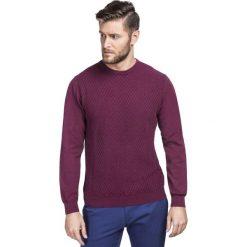 Sweter FREDERICO SWAR000187. Szare swetry klasyczne męskie marki Giacomo Conti, na jesień, m, z bawełny. Za 219,00 zł.