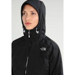 The North Face STRATOS JACKET Kurtka hardshell black. Czarne kurtki sportowe damskie marki The North Face, xs, z hardshellu, outdoorowe. W wyprzedaży za 479,20 zł.