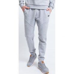 Spodnie dresowe męskie: Spodnie dresowe męskie SPMD227 – szary melanż