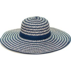 Kapelusz damski Zygzaki granatowy (cz16114-2). Niebieskie kapelusze damskie Art of Polo. Za 32,73 zł.