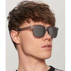 Okulary przeciwsłoneczne męskie: Okulary przeciwsłoneczne - Jasny szar