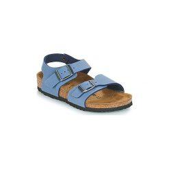 Sandały Dziecko  Birkenstock  NEW YORK. Niebieskie sandały chłopięce Birkenstock. Za 167,30 zł.