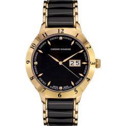 """Zegarki męskie: Zegarek kwarcowy """"Thyrso"""" w kolorze czarno-złotym"""