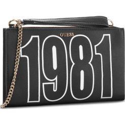 Torebka GUESS - HWVG68 76690 BLA. Czarne torebki klasyczne damskie marki Guess, z aplikacjami, ze skóry ekologicznej. W wyprzedaży za 239,00 zł.