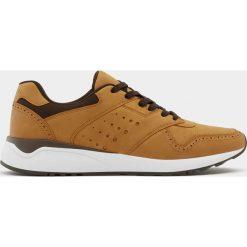 Buty męskie: Miejskie buty sportowe ze zdobieniem brogue