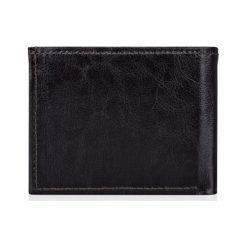 Elegancki brązowy skórzany męski portfel SOLIER  MAKENZIE. Brązowe portfele męskie Solier, z materiału. Za 99,00 zł.