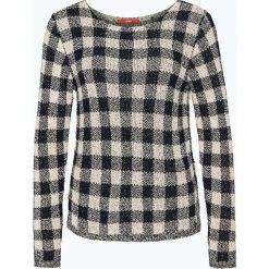Swetry klasyczne damskie: s.Oliver Casual – Damski sweter bouclé, niebieski