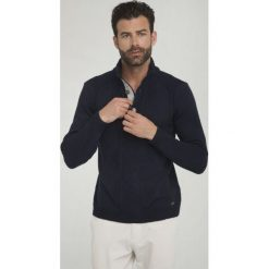 Sir Raymond Tailor Sweter Męski Wave M Ciemny Niebieski. Niebieskie swetry klasyczne męskie Sir Raymond Tailor, l, z dzianiny. Za 195,00 zł.