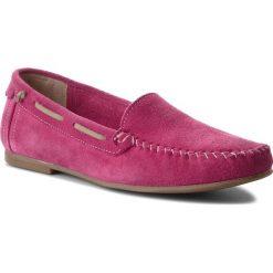Mokasyny FILIPE - 8130 Pink. Czerwone mokasyny damskie Filipe, ze skóry. W wyprzedaży za 169,00 zł.