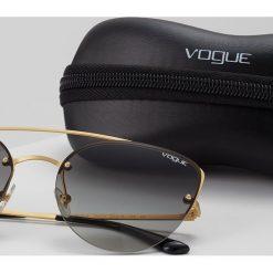 VOGUE Eyewear Okulary przeciwsłoneczne grey. Szare okulary przeciwsłoneczne damskie aviatory VOGUE Eyewear. Za 499,00 zł.