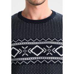 Swetry klasyczne męskie: Selected Homme SHXBLIZZARD CREW NECK Sweter navy blazer