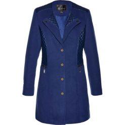 Płaszcze damskie pastelowe: Krótki płaszcz bonprix kobaltowy
