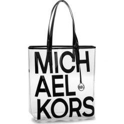 Torebka MICHAEL MICHAEL KORS - The Michael Bag 30S8S01T3P  Black. Czarne torby plażowe marki MICHAEL Michael Kors, z tworzywa sztucznego. Za 419,00 zł.