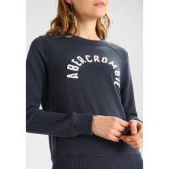 Bluzy rozpinane damskie: Abercrombie & Fitch SUNFADE TECH LOGO CREW  Bluza navy