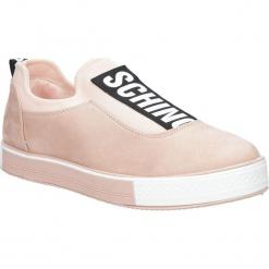 Różowe buty sportowe creepersy na platformie Casu SG-35. Czarne buty sportowe damskie marki Casu. Za 49,99 zł.