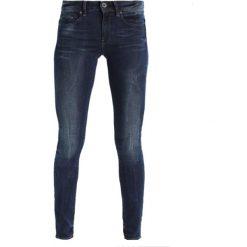 GStar MIDGE ZIP MID SKINNY  Jeans Skinny Fit neutro stretch denim. Czarne jeansy damskie relaxed fit G-Star, z bawełny. Za 609,00 zł.