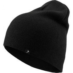 Czapka męska CAM606 - głęboka czerń - Outhorn. Czarne czapki zimowe męskie Outhorn. Za 24,99 zł.