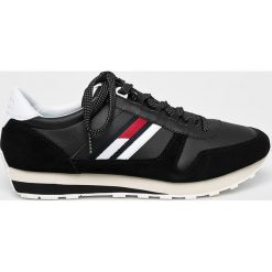 Tommy Jeans - Buty Retro Runner. Czarne buty skate męskie Tommy Jeans, z jeansu, na sznurówki. Za 399,90 zł.