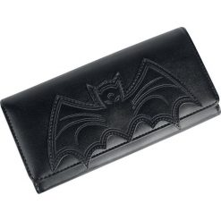 Banned Alternative Bat Wallet Portfel czarny. Czarne portfele damskie Banned Alternative. Za 99,90 zł.