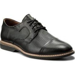 Półbuty KRISBUT - 5035-1 Czarny 9. Czarne buty wizytowe męskie Krisbut, z materiału. W wyprzedaży za 199,00 zł.