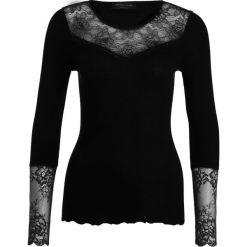 Bluzki asymetryczne: Rosemunde REGULAR Bluzka z długim rękawem black